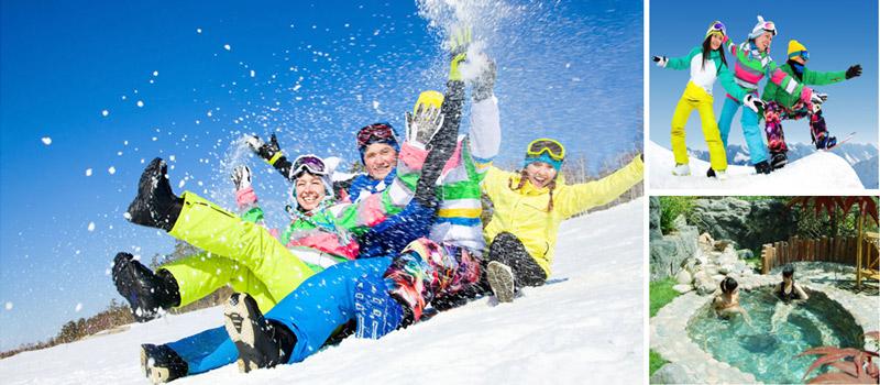 平谷渔阳滑雪团建+京东第一温泉团建2天