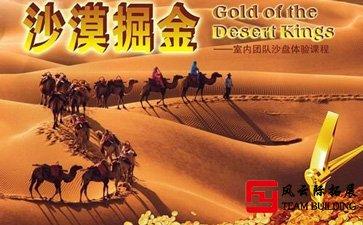 拓展训练项目「沙漠掘金」