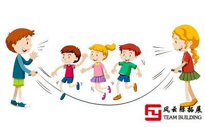 团队趣味游戏:跳绳比赛规则