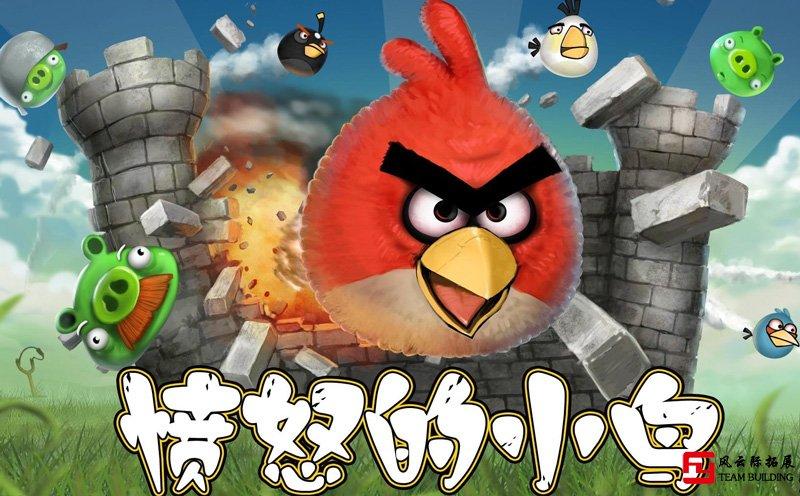 趣味运动会「愤怒的小鸟」